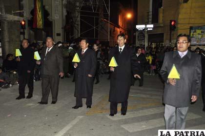 Representantes de la Coteor desfilaron con civismo
