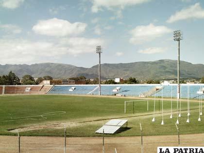 Los tarijeños cuentan con un buen estadio como es el IV Centenario