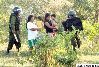 Piden arraigo para Llorenti por represión en Chaparina (Foto archivo)