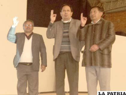 Las nuevas principales autoridades de la FNI