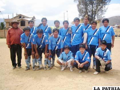 Jugadores del club Illimani