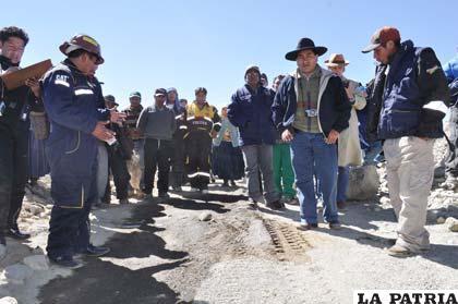 Inspección a la comunidad de Suches por el ingreso ilegal de peruanos /ABI