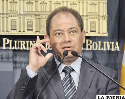Carlos Romero no cree conveniente recibir ayuda de Brasil para erradicar plantaciones de coca /ABI