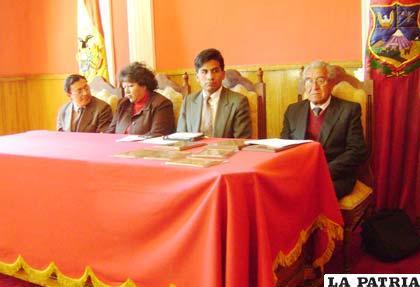 El acto de conmemoración de los 54 años del Comité de Etnografía y Folklore