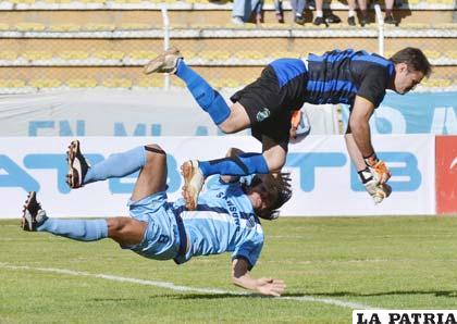 Bolívar necesita reponerse en el torneo de la Liga (foto: APG)
