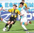 Chumacero domina el balón ante la marca de su adversario (foto: APG)