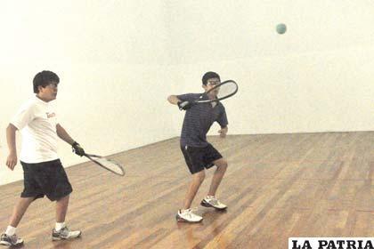 Se vio buen nivel en el torneo nacional de raquet