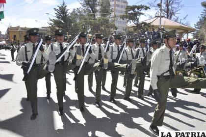 Desfile cívico y el orgullo de ser boliviano
