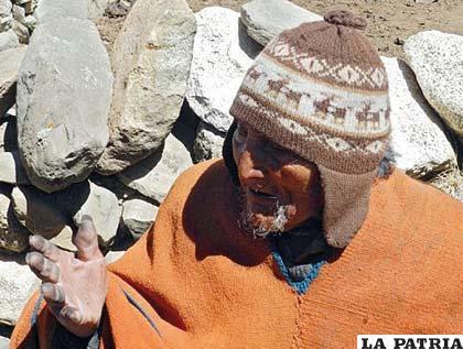 Carmelo Flores Laura, el hombre más longevo del mundo