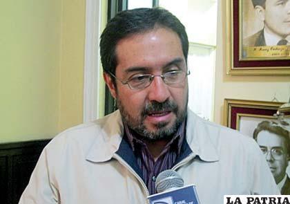 Diputado Jaime Navarro de UN