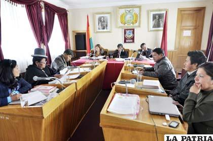 Sesión de Concejo Municipal