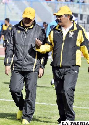 Villegas y Jiménez dirigen Strongest