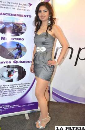 Wendy Guzmán, de Impala Bolivia