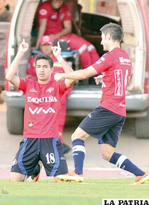 Ramallo es el goleador de la Liga
