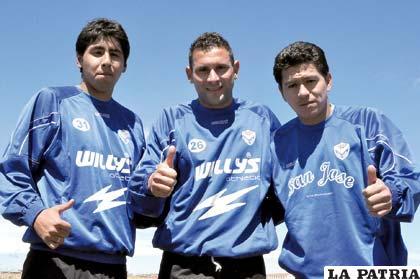 Ferrufino, Neumann y Saucedo, serán titulares esta noche