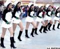 Estudiantes desfilaron orgullosos de ser bolivianos