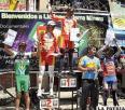 Wilder Juchani fue el ganador de  la tercera etapa Oruro-Llallagua