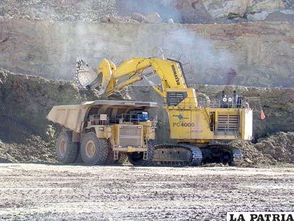 La actividad minera privada, permitirá sostener el funcionamiento de la metalurgia nacional