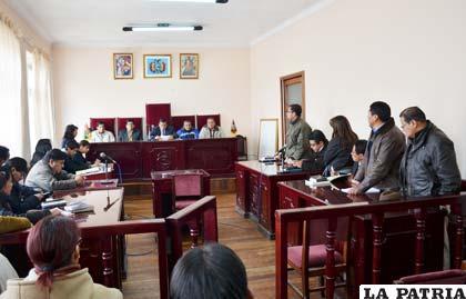 Se dictó sentencia en el caso del Puerto Seco contra exautoridades de la prefectura de Oruro
