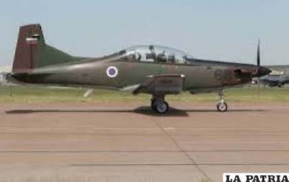 Avión Pilatus PC-7