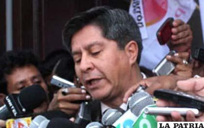 Jaime Barrón, exdirigente del Comité Interinstitucional de Sucre