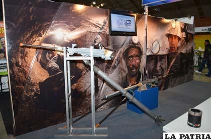Perforadora para la exploración minera de la marca Boart Longyear
