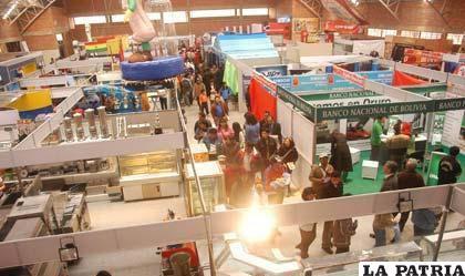 Este año se amplía el área de servicios del evento en Expoteco