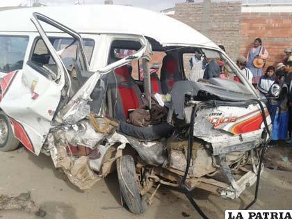 Imágenes de consecuencias trágicas de accidentes serán expuestas ante choferes