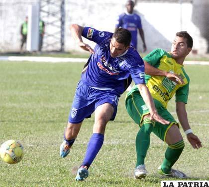 Leandro Ferreira intenta superar la marca de su adversario