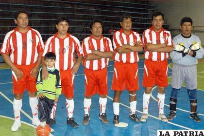 El equipo que logró el subcampeonato en futsal Sénior
