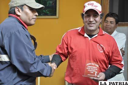 Justiniano Arroyo fue el ganador en la Primera