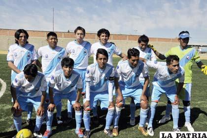 La representación de Deportivo Sajama