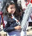 Desfile cívico de homenaje a los 189 años de Independencia de Bolivia