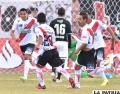 Charles Da Silva celebra junto a sus compañeros el único gol del partido