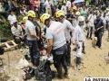 Labor de rescate para salvar a mineros