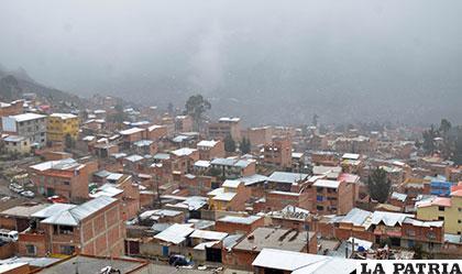 El clima no mejorará hasta este viernes según el Senamhi /APG