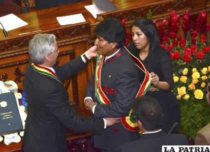 Evo Morales inició en enero su tercer mandato para el periodo 2015-2020 /info7.mx