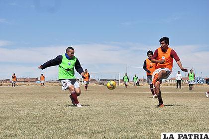 Zerda y Parrado, jugadores del equipo de San José