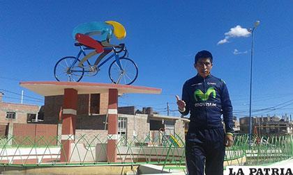 El ciclista Basilio Ramos