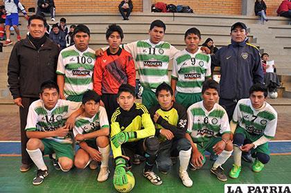 Integrantes del equipo de Santa Rosa