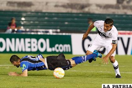 Olimpia venció 2-0 a Huachipato en la ida /futebolatino.com