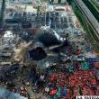 Panorámica de las explosiones en Tianjin /100noticias.com.n