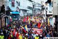 Indígenas marchan en demanda de la libertad para los detenidos /elnuevoherald.com