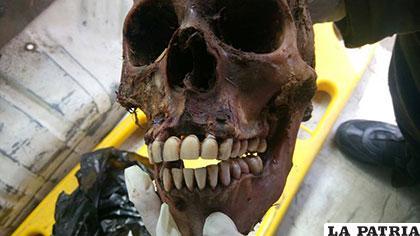 El hallazgo del cráneo abre la investigación de un crimen