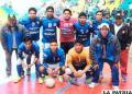 Cooperativa 10 de Febrero  campeón del futsal