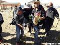 Cooperativitas rescatan a un herido minero en los enfrentamientos de Panduro
