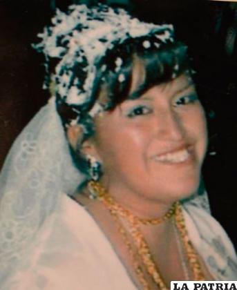 Claudia Sandra Huanca Mamani /Archivo