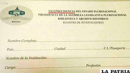 Bolivia: empleado público escribió