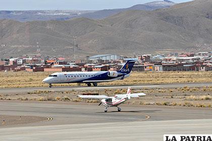 El aeropuerto fue víctima de destrozos y robo de luminarias de la pista /Archivo