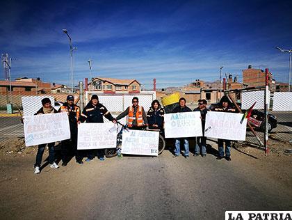 Trabajadores de Aasana amenazan con paro de actividades